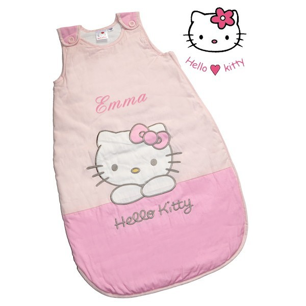 turbulette gigoteuse hello kitty rose personnalis e