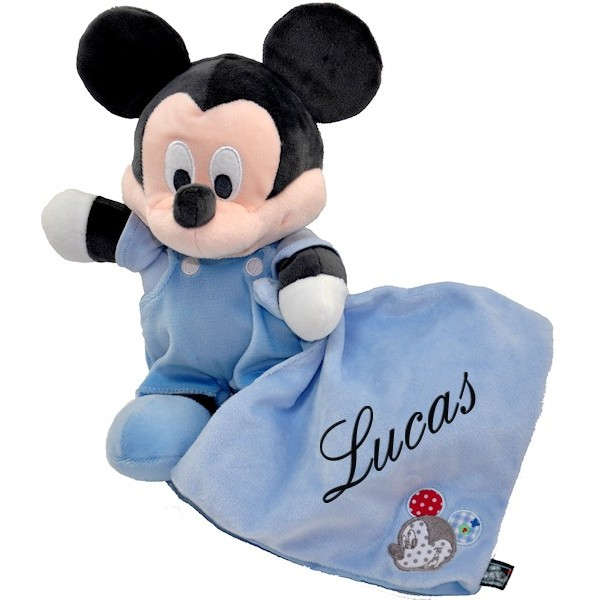 doudou personnalis mickey collection disney. Black Bedroom Furniture Sets. Home Design Ideas