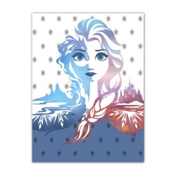 Plaid 'La Reine des Neiges 2'